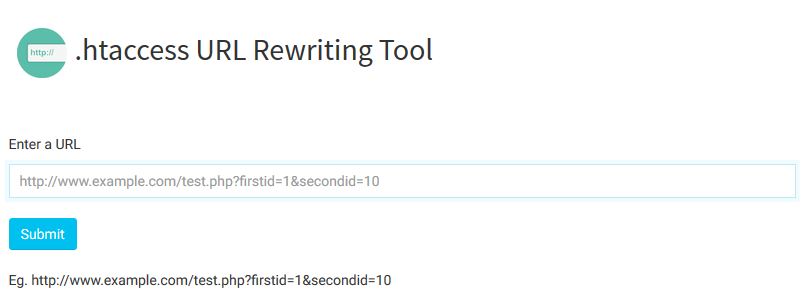 nimtools-htaccess URL Rewriting Tool