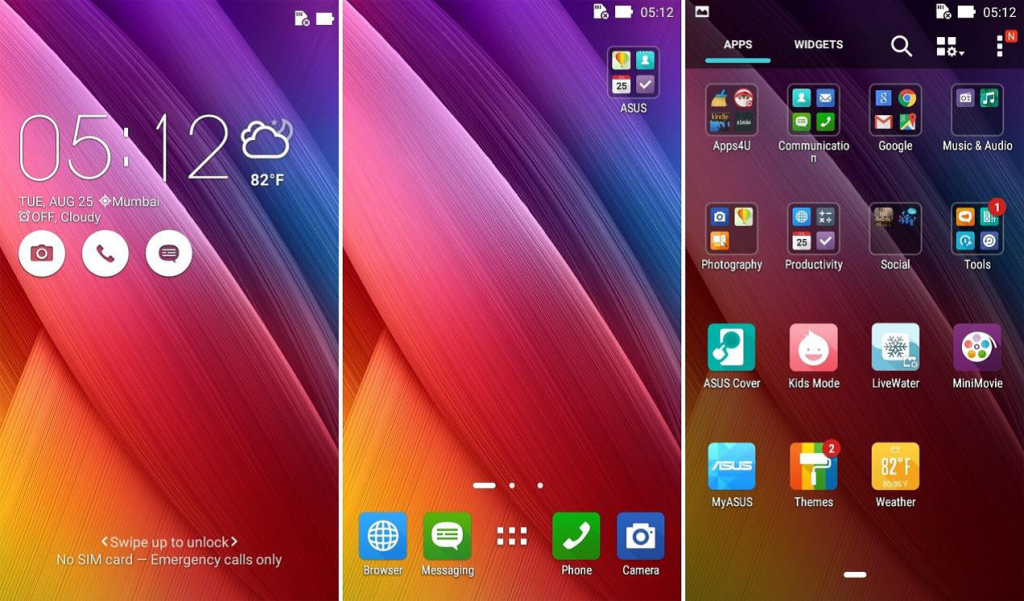 Asus zenfone go 2nd genration UI 3 - techniblogic