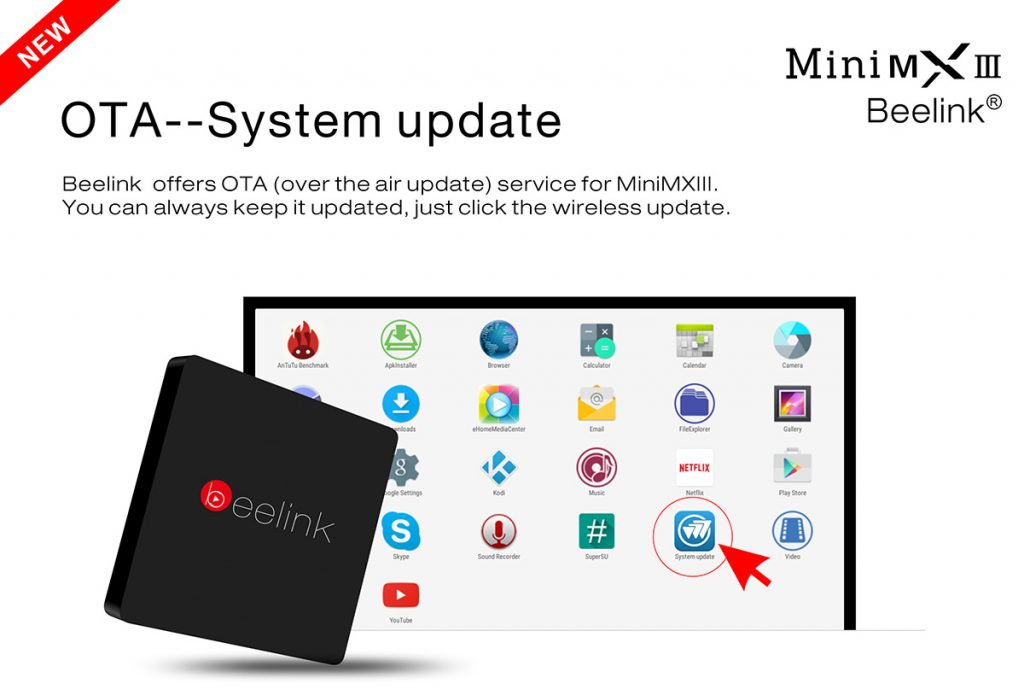 Beelink Mini MXIII OTA Update- techniblogic