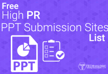 Free-High-PR-ppt-Submission-Sites-List-techniblogic