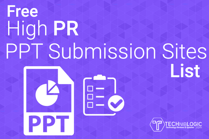 Free-High-PR-ppt-Submission-Sites-List-techniblogic