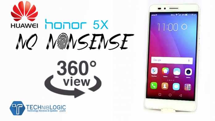 Huawei Honor 5X | 360 Degree View