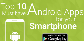 Top 10 Must have Android Apps for your Smartphone 2016