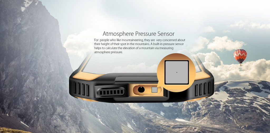 Blackview BV6000 Atmosphere pressure sensor - techniblogic