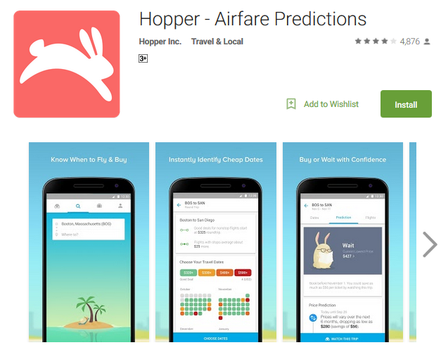 Hopper - Airfare Predictions