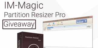 IM-Magic Partition Resizer Pro Giveaway