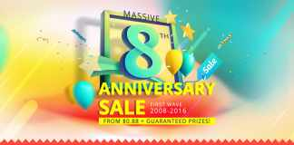 Massive Everbuying Anniversary Sale Starting at 0.88$