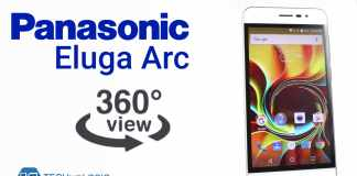 Panasonic Eluga Arc | 360 Degree View