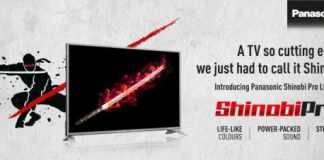 Panasonic Shinobi LED TV - Techniblogic