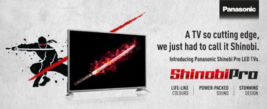 Panasonic Shinobi LED TV - Techniblogic
