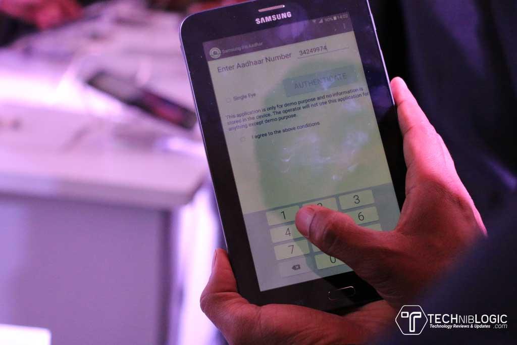 Samsung-Galaxy-Tab-Iris-aadhar-app--techniblogic