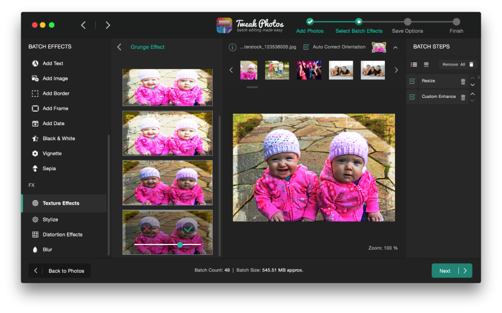 Tweak Photos - Batch Photo Editor for Mac Review 3 - techniblogic