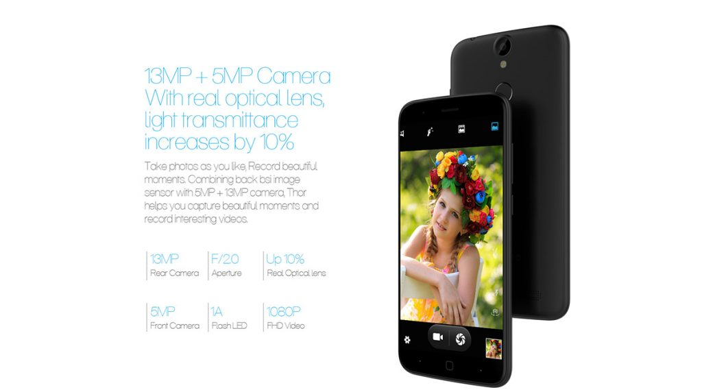 Vernee Thor 4G Camera - techniblogic