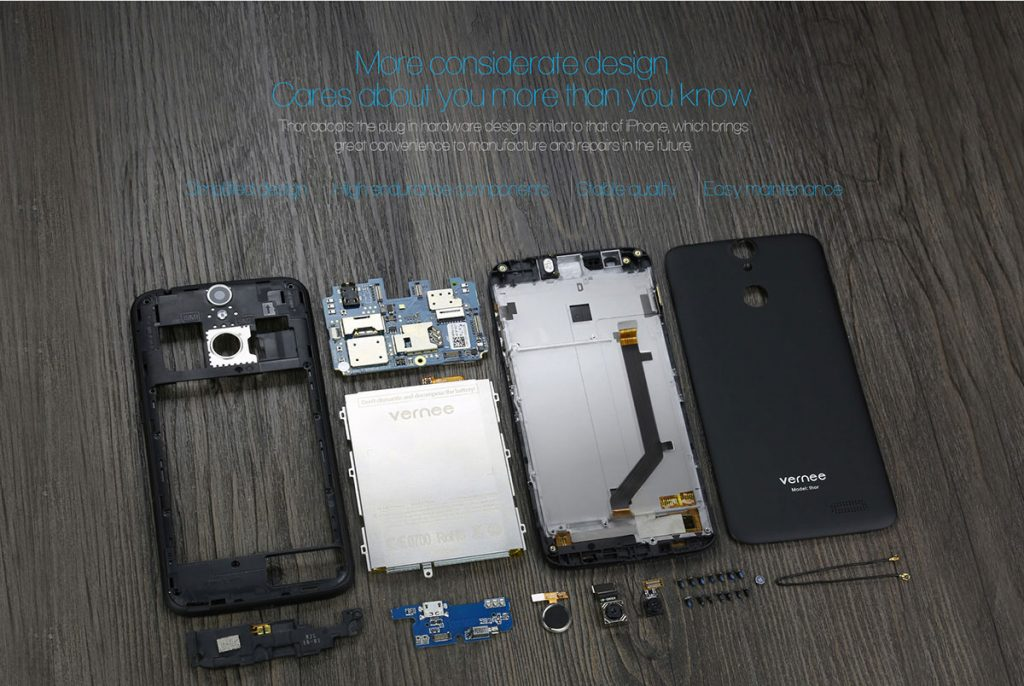 Vernee Thor 4G Tear Down - techniblogic