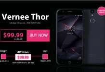 Vernee Thor 4G - techniblogic