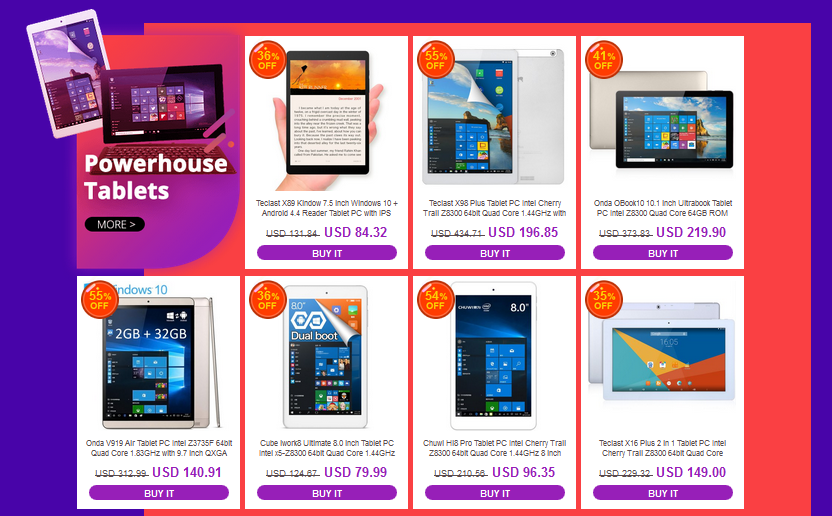 everbuying sale tablet