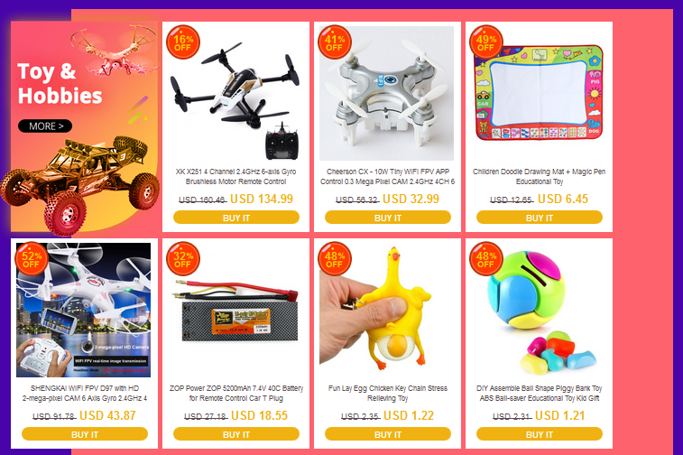 everbuying sale toys