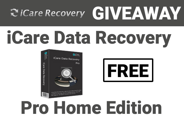 iCare Data Recovery Pro May Giveaway