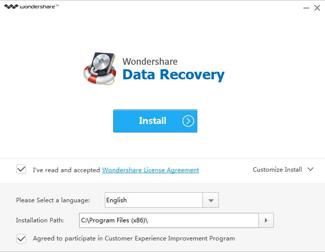 1-Wondershare Data Recovery