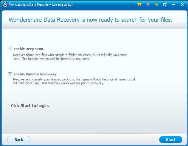 7-Wondershare Data Recovery