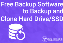 Free Backup Software to Backup and Clone Hard Drive SSD techniblogic