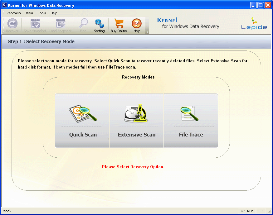 Picture1 Kernel for Windows Data Recovery Review