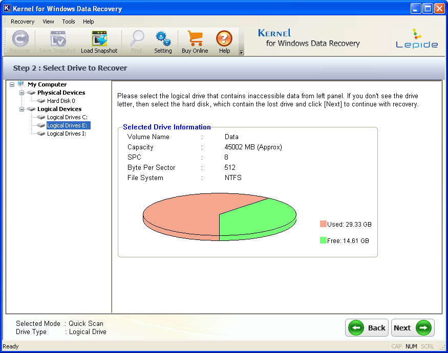 Picture2 Kernel for Windows Data Recovery Review
