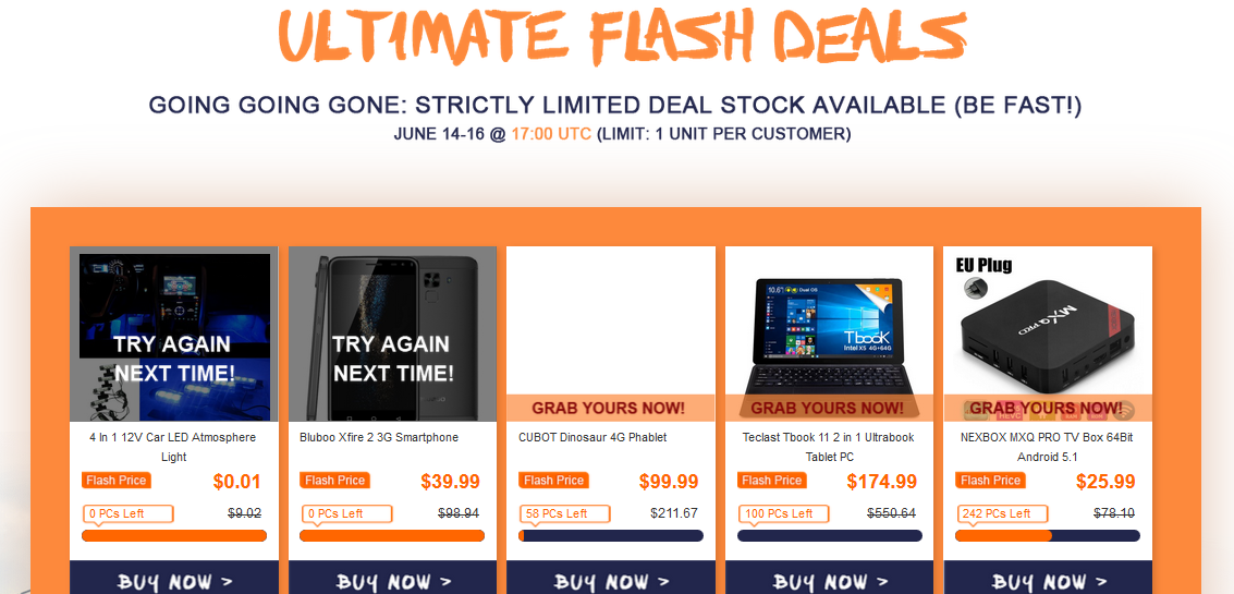 ultimate flash deals