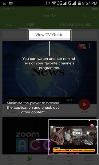 nexGTv App 3 - techniblogic