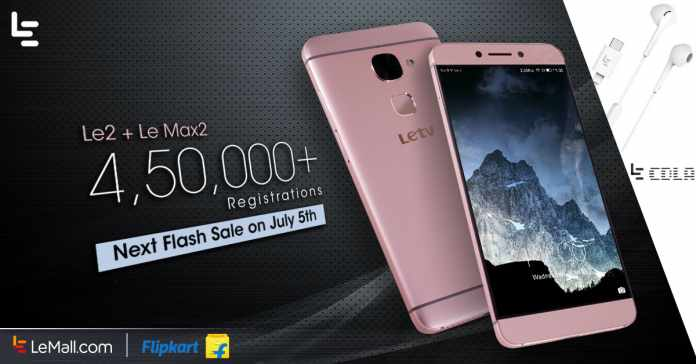 LeEco Le 2 and Le Max2 Will Coming back with Free CDLA Earphones