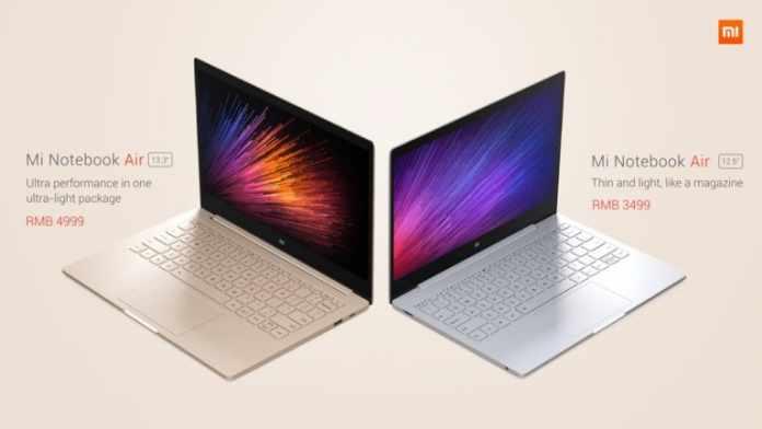 Mi notebook differen variants - techniblogic