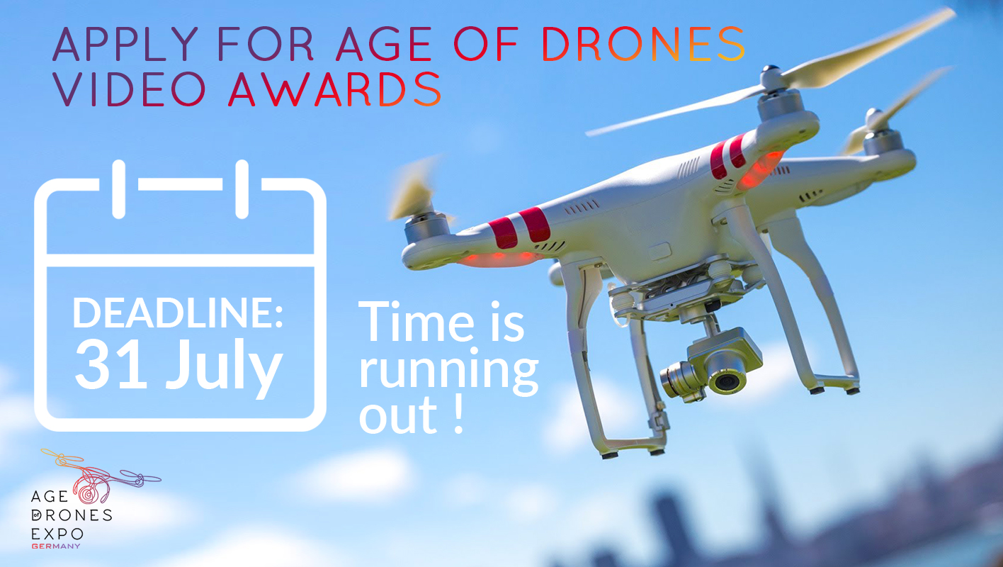 Take a Chance! Apply for Age of Drones Video Awards 2016