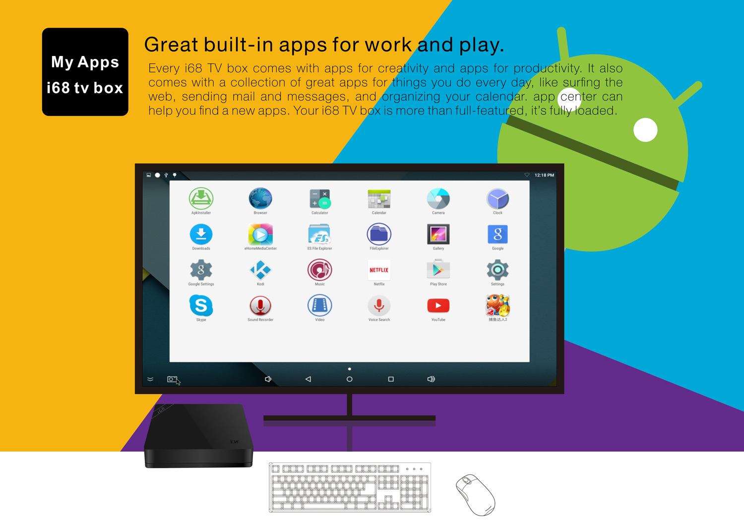 the best android tv box apps of the past year techniblogic. Black Bedroom Furniture Sets. Home Design Ideas