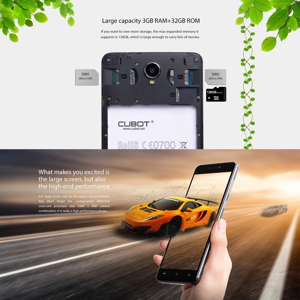 Cubot Max 4g dual sim - techniblogic