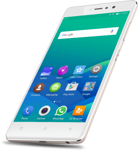 Gionee S6s with front flash
