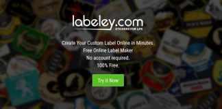 Labeley - Free Online Label Maker
