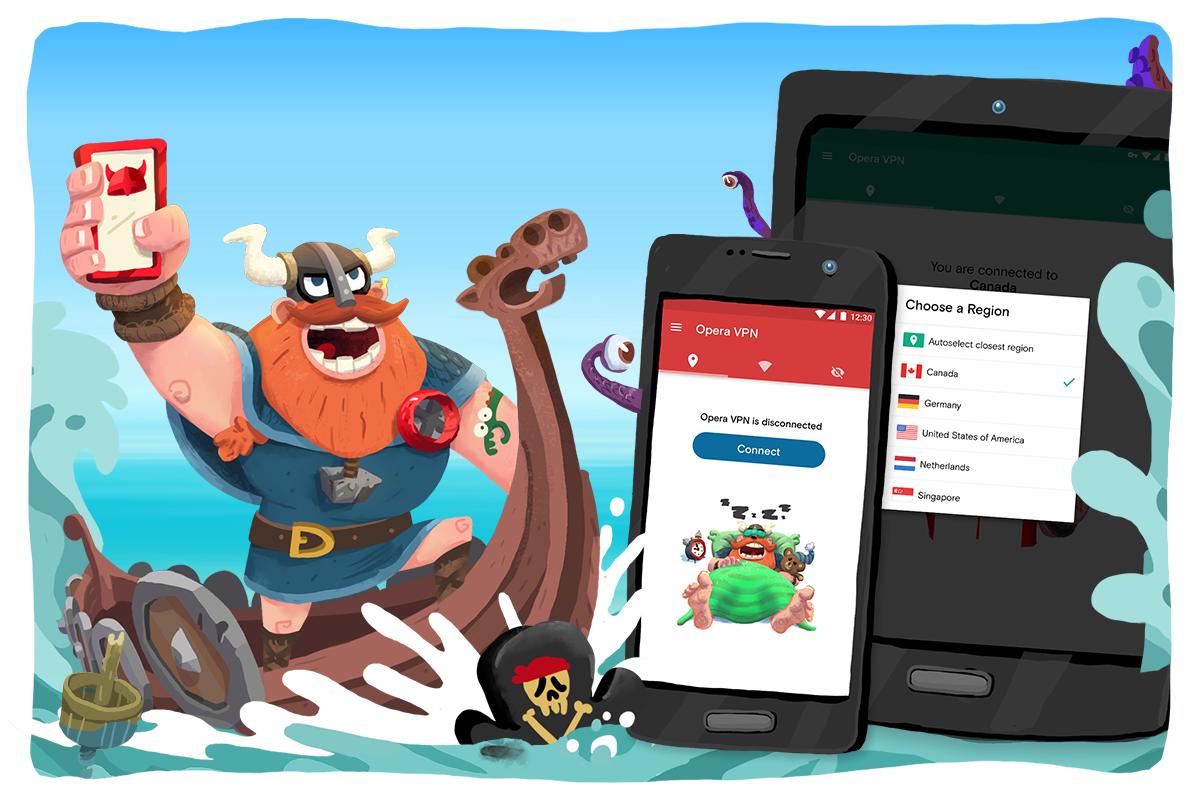 Opera VPN App - Best free Proxy Android App