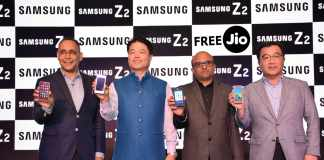 Samsung Z2 with Free 4G Jio Offer
