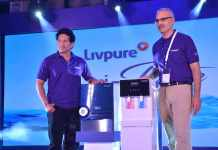 Shri-Sachin-Tendulkar-and-Mr.-Navneet-Kapoor,-Co-founder-&-Chairman,-Livpuretechniblogic