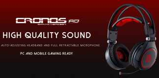 The New Tt eSPORTS CRONOS AD Gaming Headset