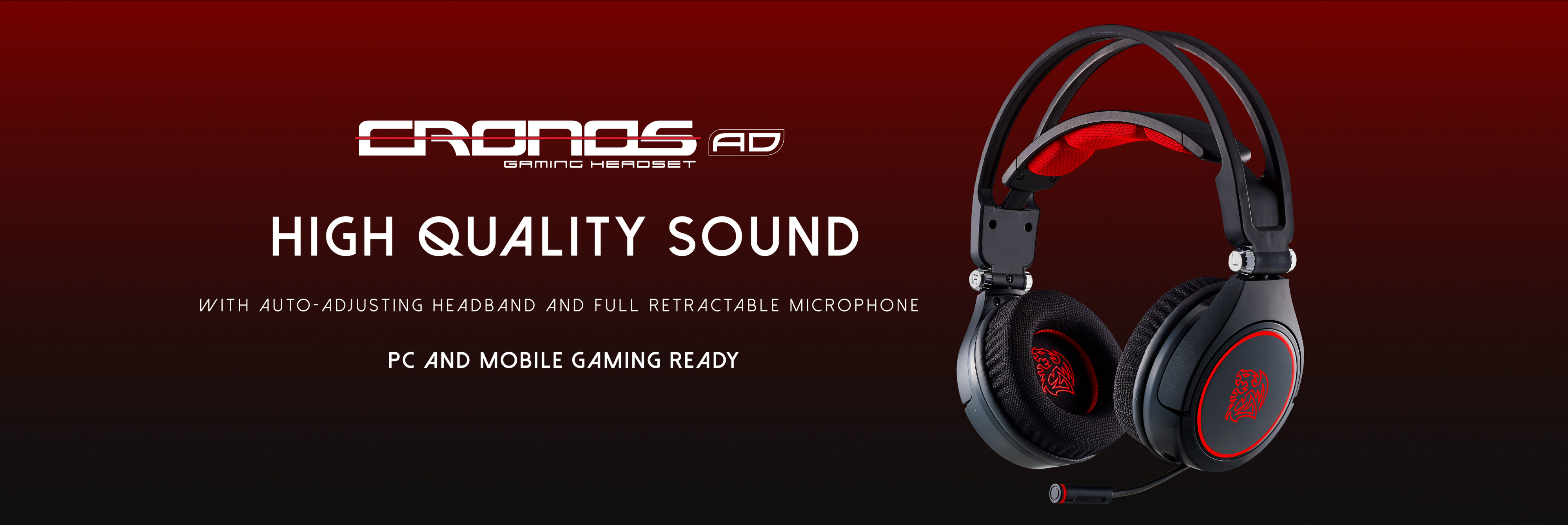 The New Tt eSPORTS CRONOS AD Gaming Headset