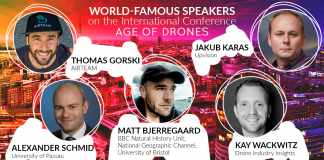 Top 5 Speakers of Age of Drones International Conference 2016