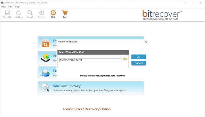 VHD Recovery tool - techniblogic