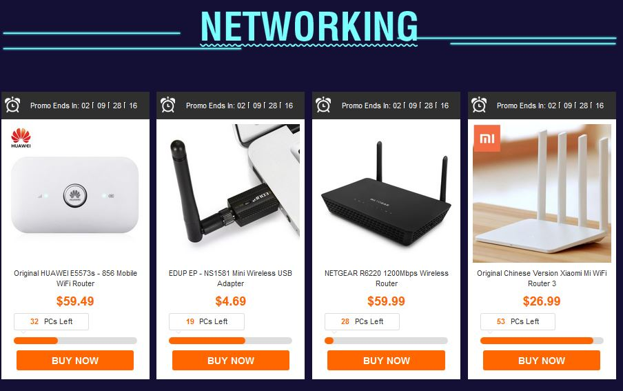 gearbest discount routers