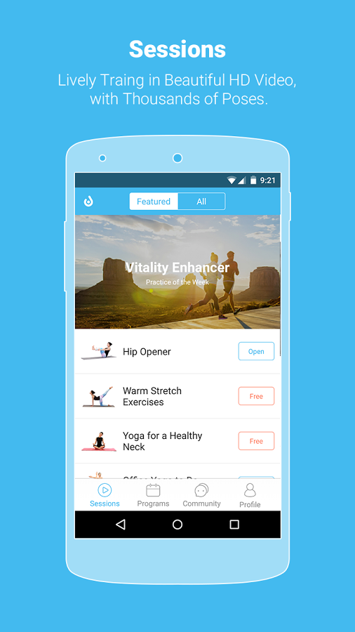 Yoga app 1