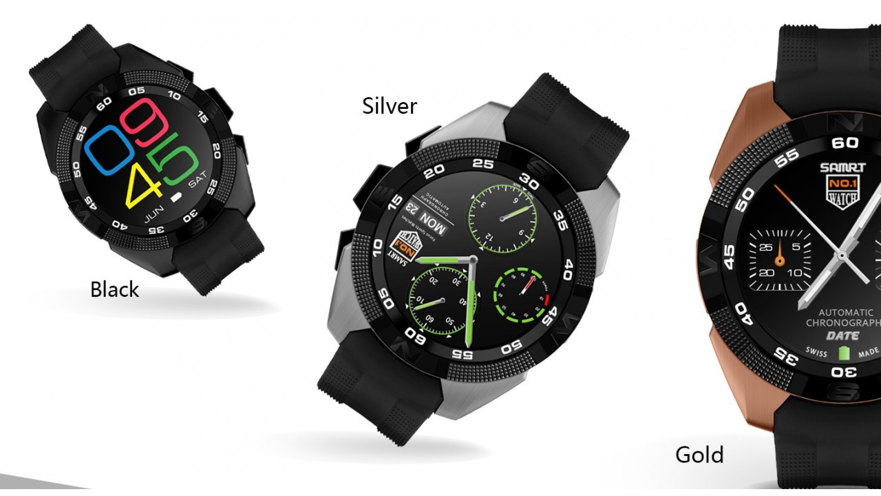 no1g Smartwatch colors