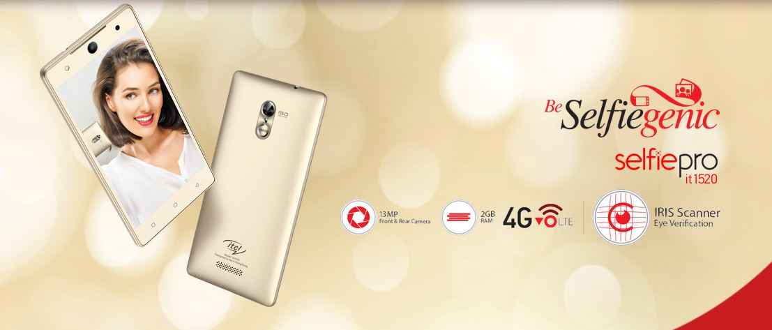 Itel launched phone with an IRIS Scanner