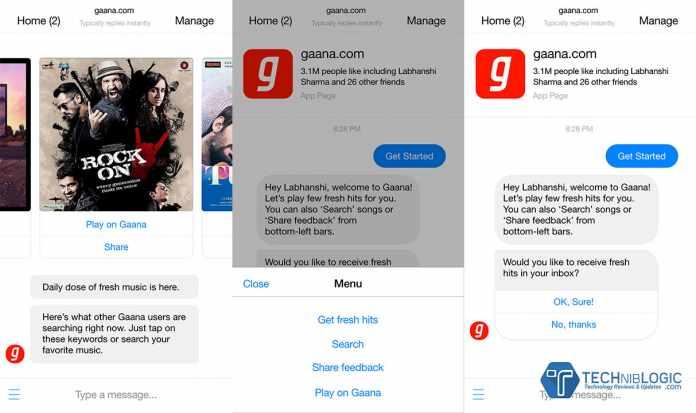Gaana enhances music streaming experience from Facebook