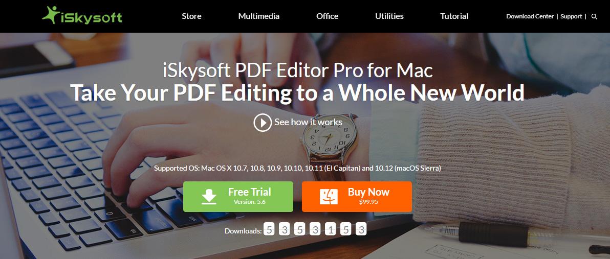 iskysoft pdf editor review