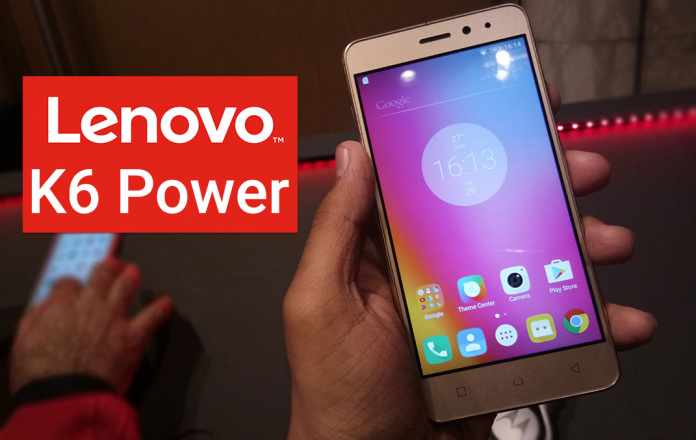 Lenovo K6 Power With 4000 mAh Battery & Reliance Jio Support Launched Rs 9,999
